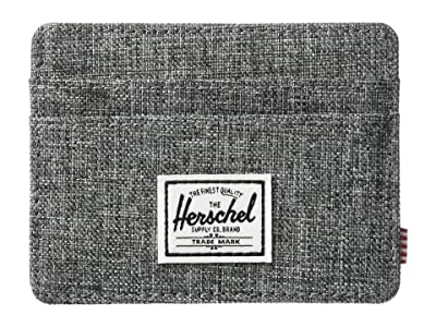 Herschel Supply Co. Charlie RFID (Raven Crosshatch) Wallet Handbags