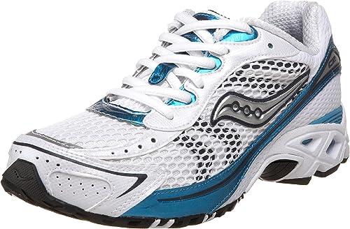 Saucony Wohommes Grid C2 Flash FonctionneHommest chaussures,blanc bleu,7.5 M