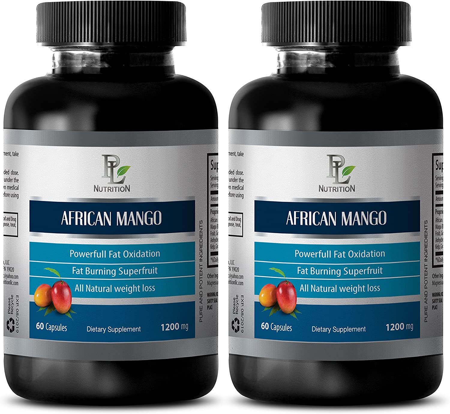 Weight Loss Energy Pills Fort Worth Mall 1200MG Mango Max 49% OFF African -