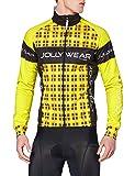 Jolly Wear Herren Fahrrad Winterjacke Funktions mit Winddichter Membran Tweed, G