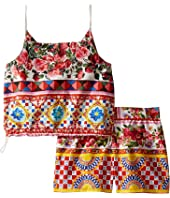 Dolce & Gabbana Kids - Mambo Top/Shorts Set (Toddler/Little Kids)