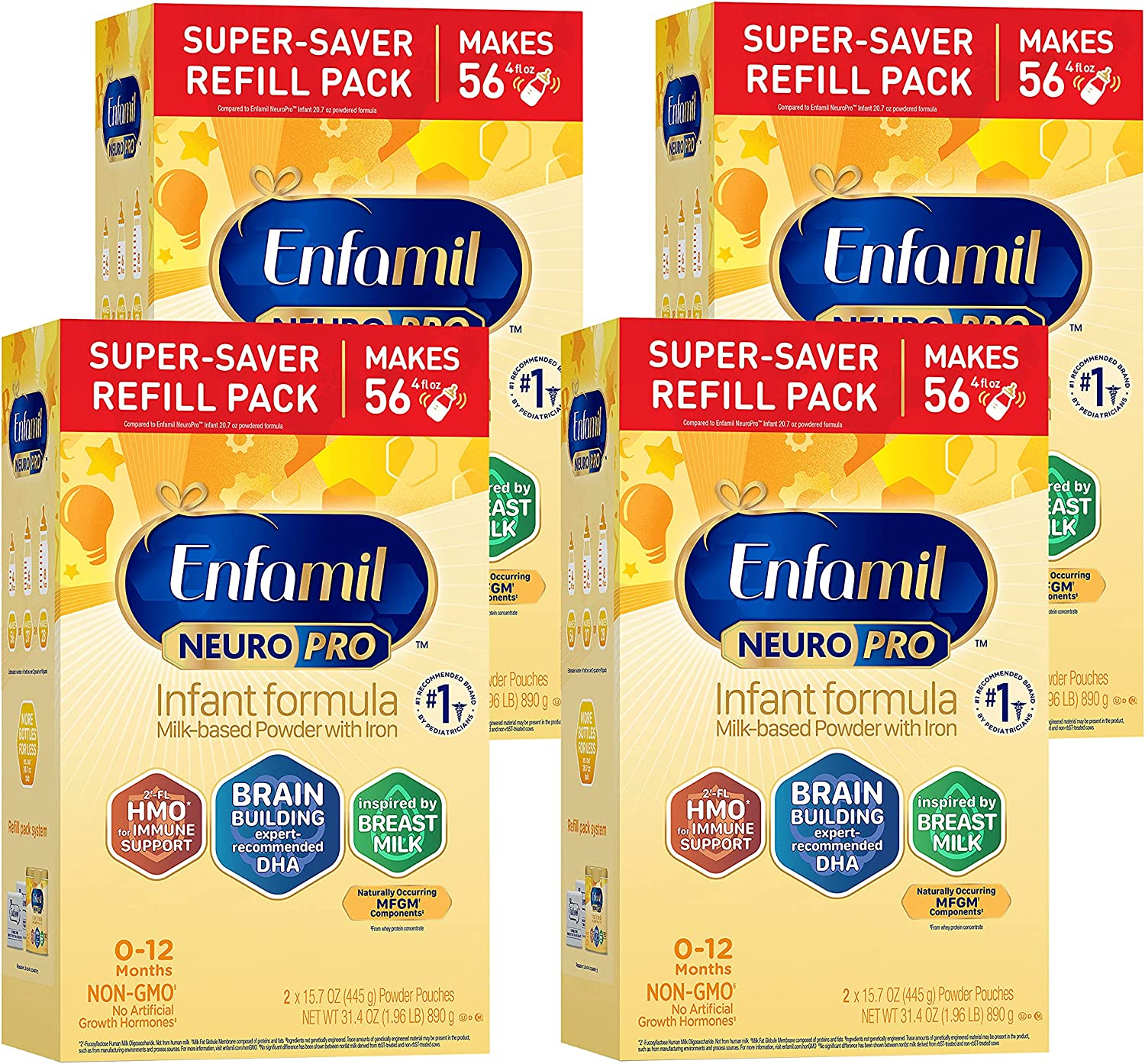 Enfamil Boston Mall Weekly update NeuroPro Baby Formula Brain Immune and with DHA Support