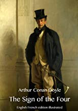 The Sign of the Four (English French edition illustrated)