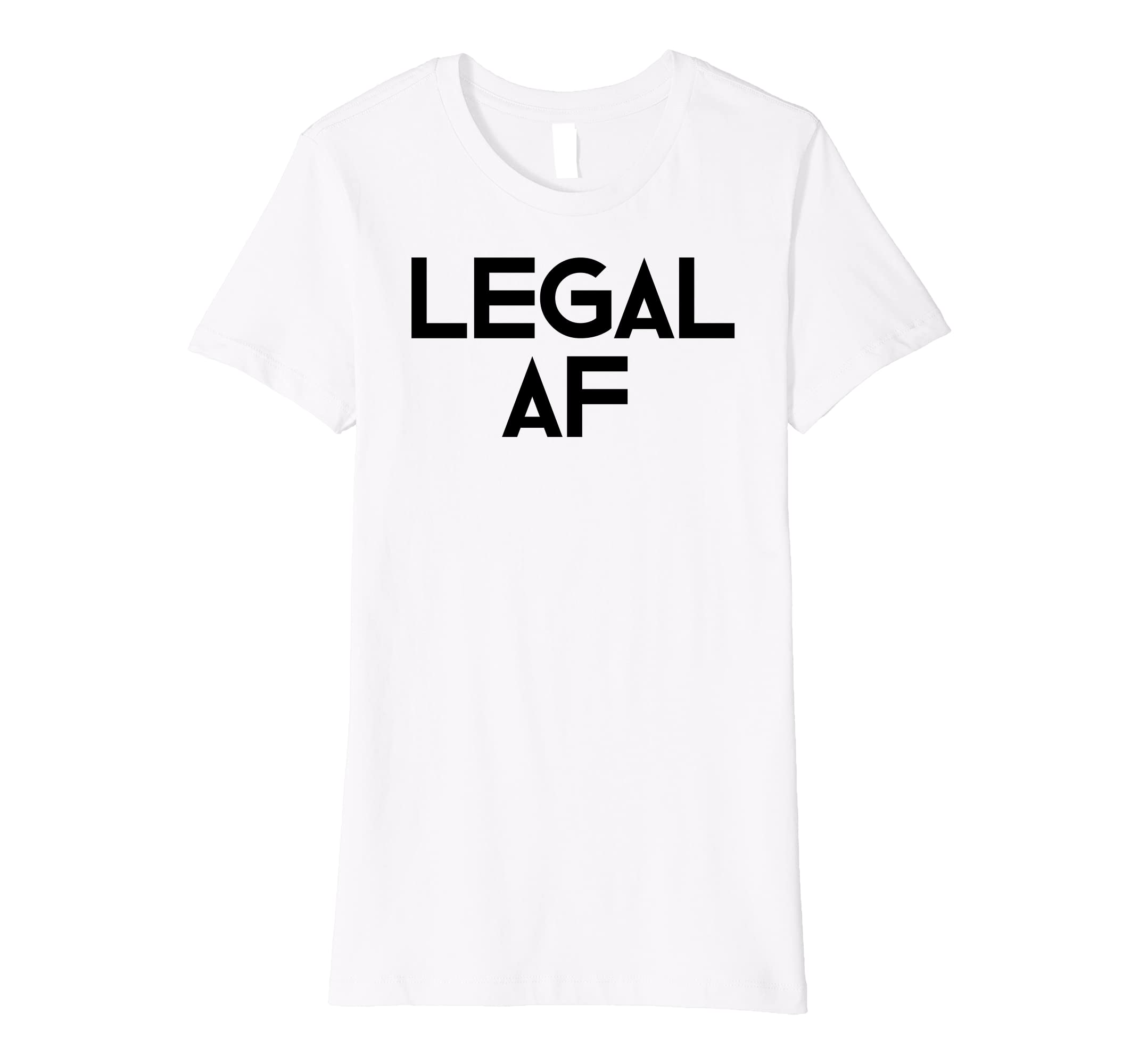 Amazon Funny 21st Birthday Gift T Shirt Legal AF 21 Years Old Tee Clothing