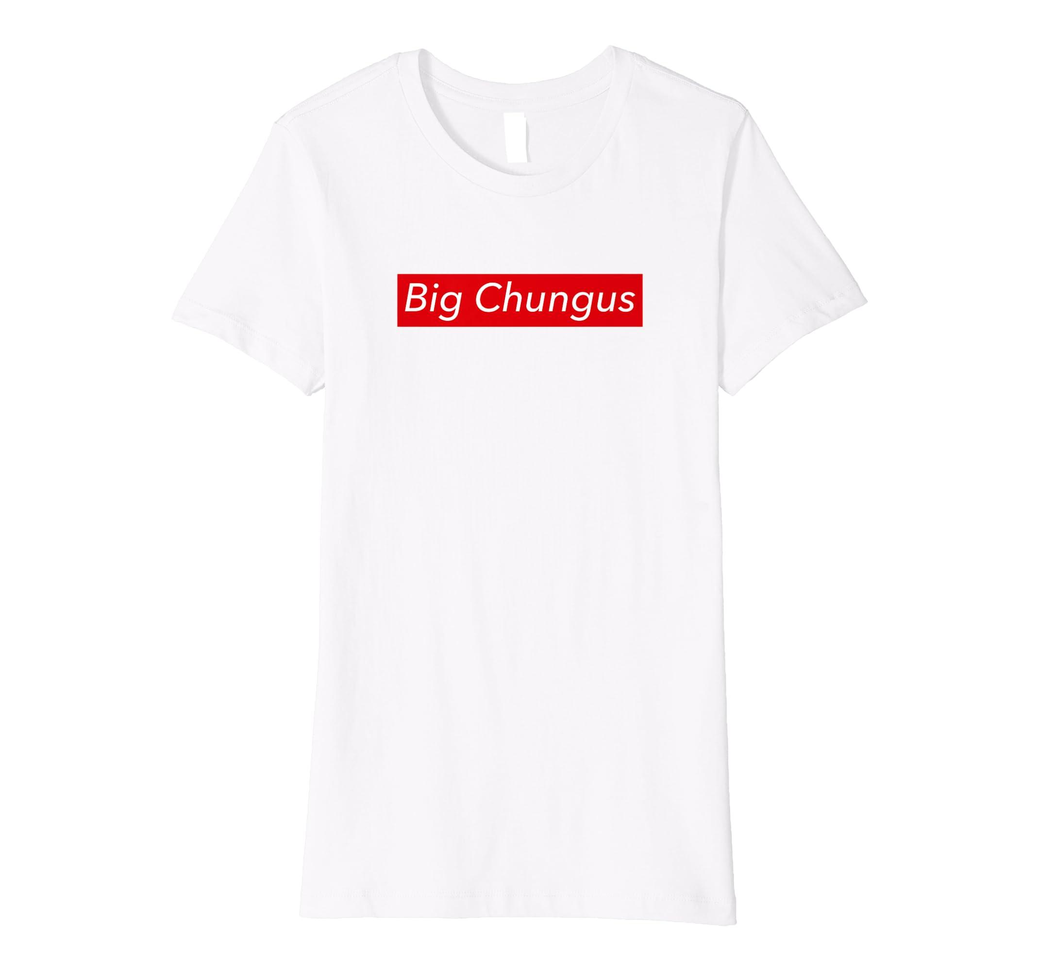 Big Chungus Tshirt Chungus Meme Shirt Amazon De Bekleidung