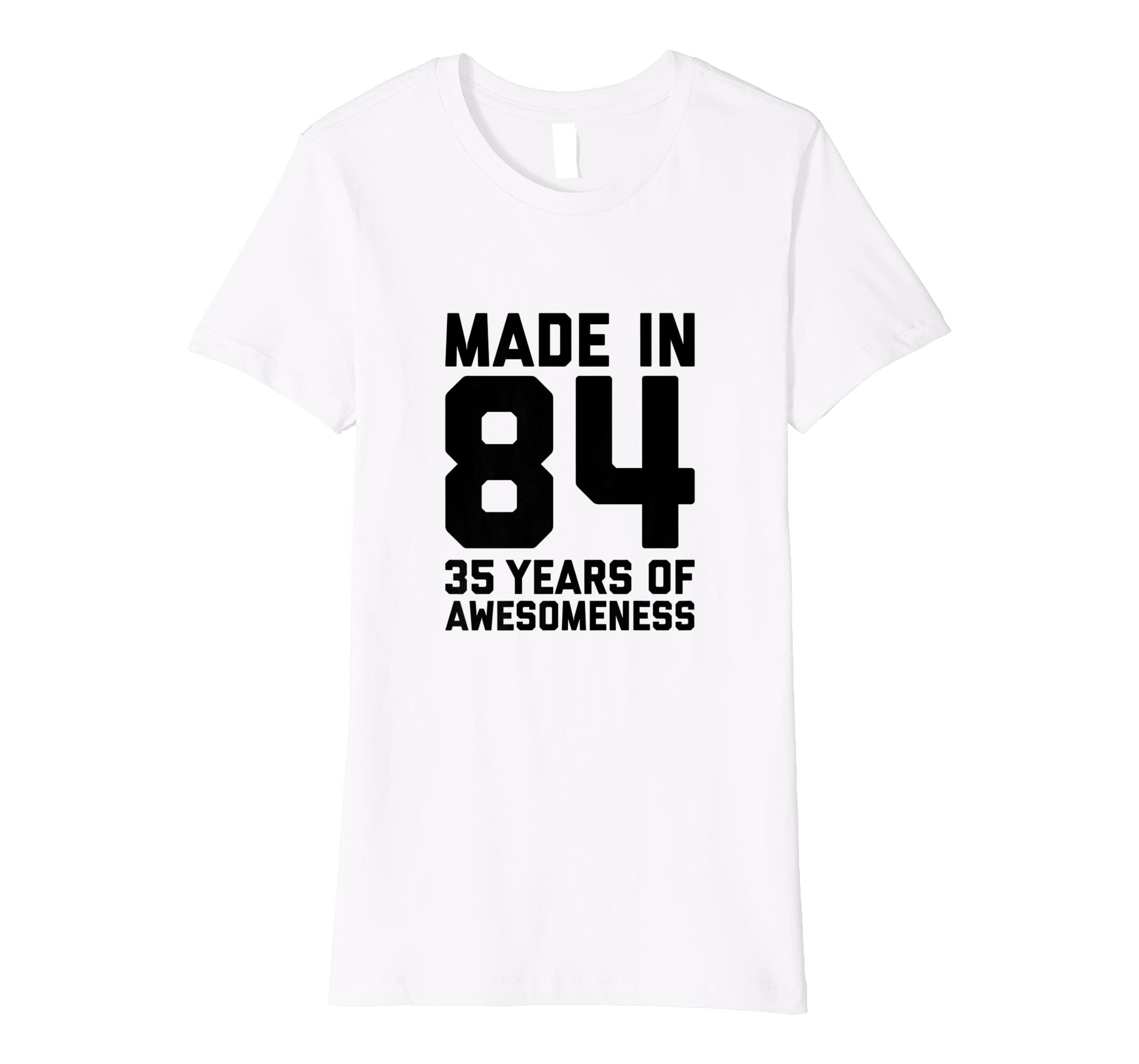 Amazon 35th Birthday Tshirt Women Gifts Age 35 Year Old Mom Auntie Clothing