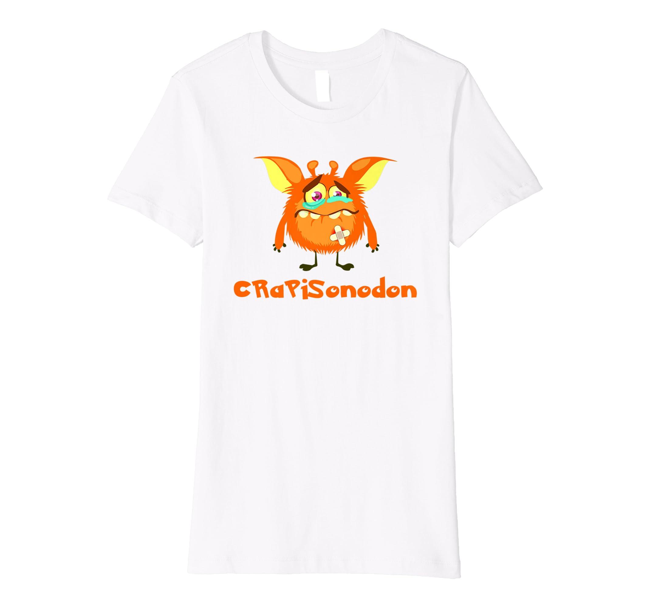 bd2b6d3ed CRPS Awareness T-Shirt - Chargimal CRaPiSonodon: Amazon.co.uk: Clothing