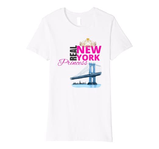 Amazon Cute New York Princess Shirt Birthday Party Outfit Gift