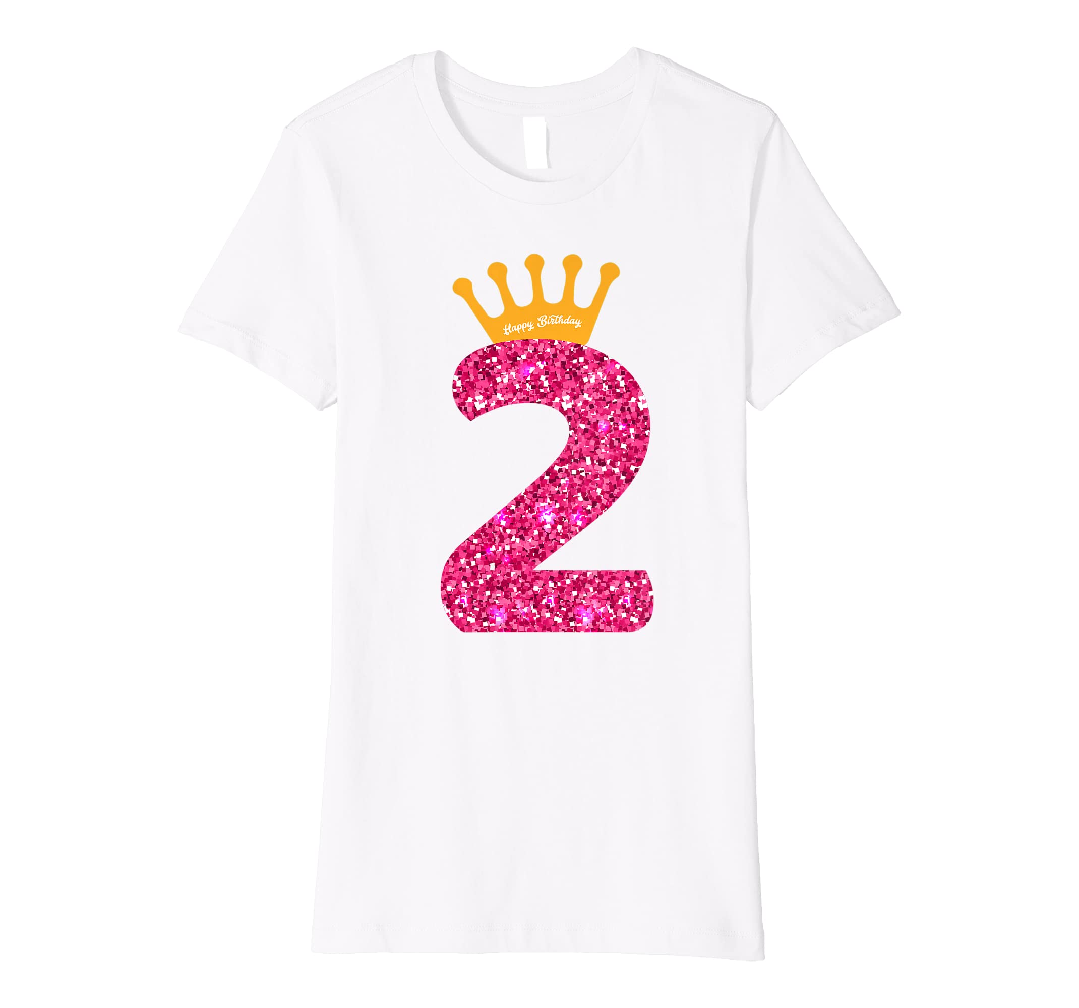 Amazon Happy Birthday Shirt Girls 2nd Party 2 Years Old Bday Clothing