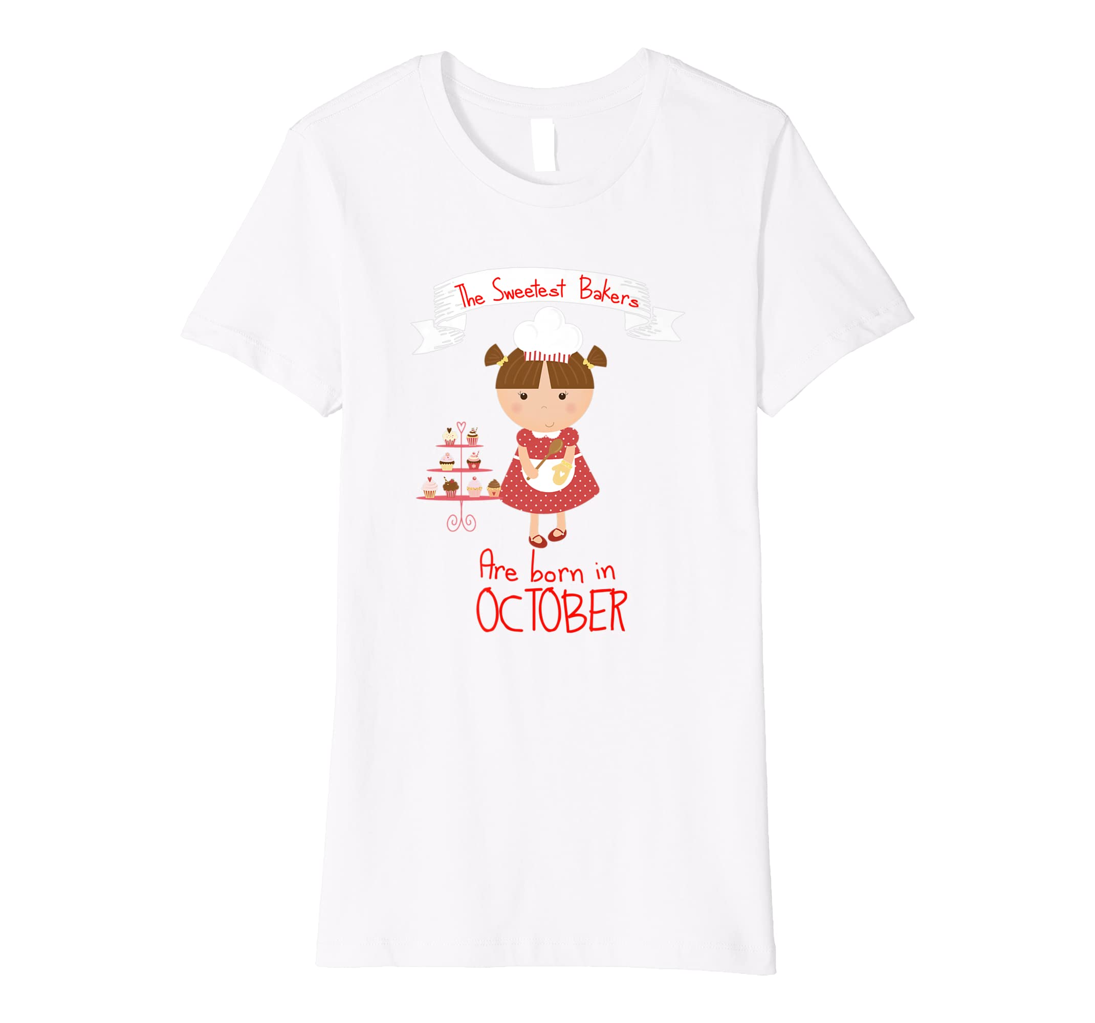 Amazon Birthday Shirt For Bakers October T Girls Clothing