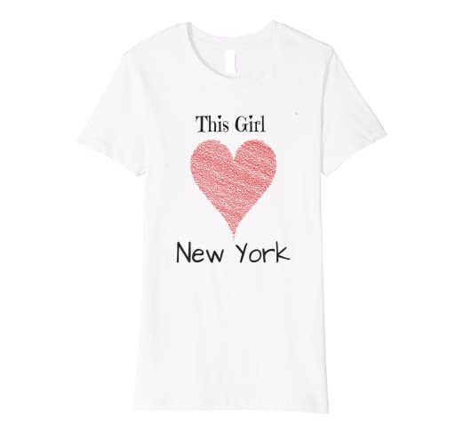 Image Unavailable. Image not available for. Color  NYC New York City T-Shirt  I LOVE NYC GIRL 0636e7ba869
