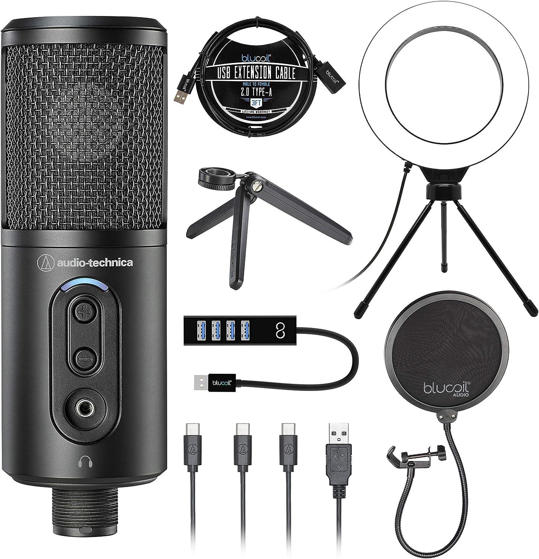 Audio-Technica Limited time cheap sale ATR2500x-USB Cardioid Fashion Condenser ATR S Microphone
