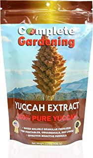 Complete Gardening Yuccah Extract (250 g) Carbohydrate and Saccharide Energy Source – Enhance Aroma and Flavor of Plants –...