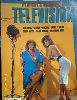 Playboy's Women Of Television Men's Magazine Victoria Principal 1984