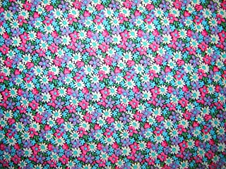 Calico Packed Daisies Fabric by the Yard