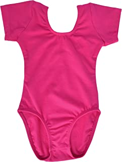 Toddler Short Sleeve Leotard for Girls