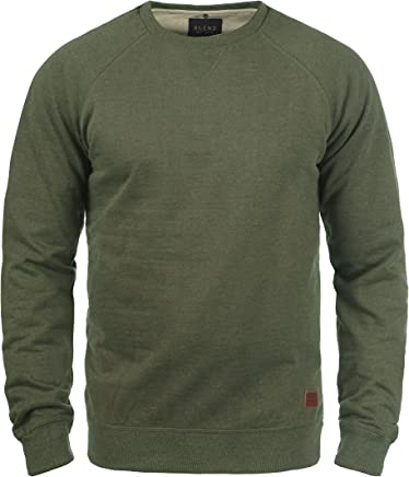 Blend Alex Jersey Sudadera Suéter Para Hombre Con Cuello Redondo Con Forro Polar Suave Al Tacto