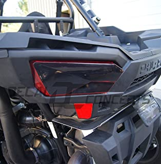 RZR 1000 Taillight Smoked Tint Decal kit (Both sides)