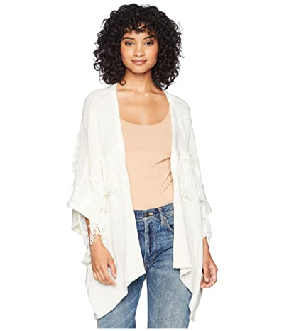 Bishop + Young Fringe Cardigan (Ivory) Women