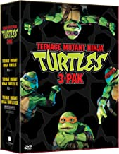 Teenage Mutant Ninja Turtles: 3 Pack (Teenage Mutant Ninja Turtles / Teenage Mutant Ninja Turtles II - The Secret of the Ooze / Teenage Mutant Ninja Turtles III)