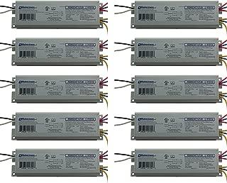 Robertson 2P20132 Quik-Pak of 10 Fluorescent eBallasts for 2 F40T12 Linear Lamps, Preheat Rapid Start, 120Vac, 50-60Hz, Normal Ballast Factor, NPF, Model RSW234T12120 /A (Crosses to RSW240T12120 /B)