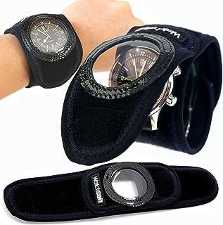 《Watch suit VR》は腕時計、スマートウォッチを5秒で簡単装着する保護プロテクターです。透明カバーの上からスマートウオッチの操作可能なソフトカバー。GALAXY Gear、MOTO360、GARMINで水泳等にも、信頼のメイドインジャパン