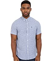 Original Penguin - Short Sleeve Linen Core Gingham