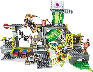 Mega Construx Teenage Mutant Ninja Turtles Turtle Sewer Lair Building Set