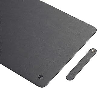 Uncrowned Kings Desk Pad - 31.5 X 15.7 Inches Premium Home Office Desk Mat Protector For Wooden/Glass Desktops - Black Veg...