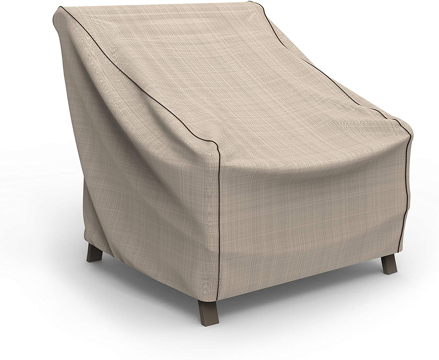 Max 45% OFF EmpirePatio Tan Animer and price revision Tweed Patio Large Cover Chair