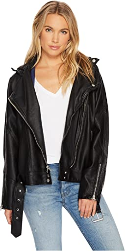 Free People - Drapey Vegan Moto