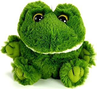 "PurrFection Bud Cushy Critter Frog 5"" Plush"