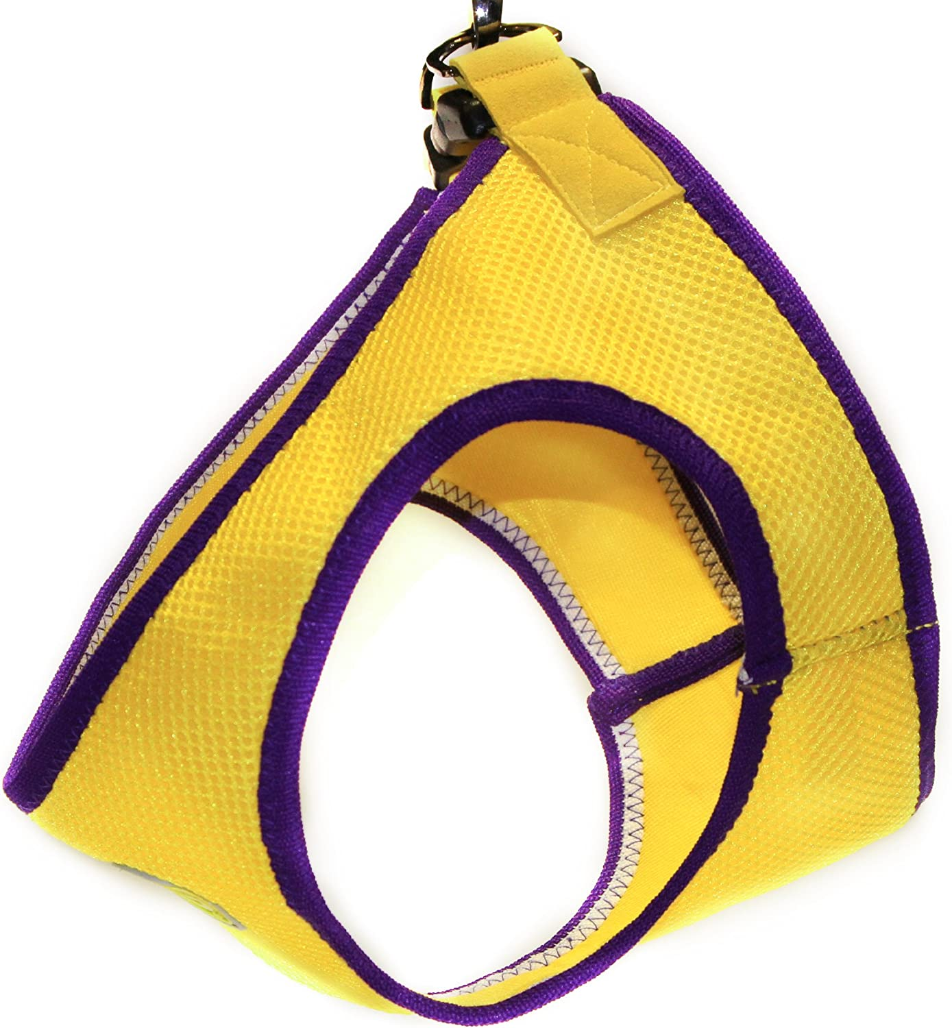 Gooby Jersey Harness, Small, Yellow