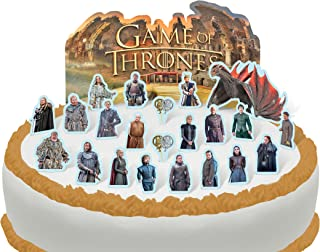 Cakeshop PRE-CUT Game of Thrones Edible Cake Scene - 23 pieces