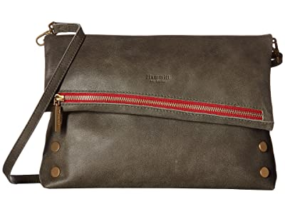 Hammitt VIP Large (Pewter/Brushed Gold/Red) Handbags
