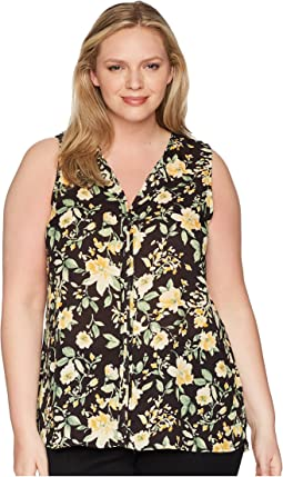 Plus Size Lily Pleat Back Top