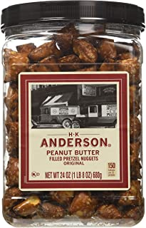 Anderson Bakery Peanut Butter Nuggets Pretzel, 24-oz.