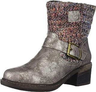 Muk Luks Women's Lois Boots Fashion, Copper, 6 M US