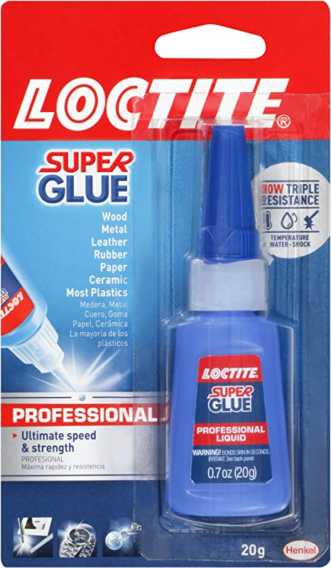 Loctite Liquid Professional Super Glue 20 Gram Bottle 1365882