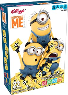 Fruity Snacks, Despicable Me, Assorted Fruit Flavored Snacks, Minion Made, Gluten Free, Fat Free, 17.6oz (22 Pouches)
