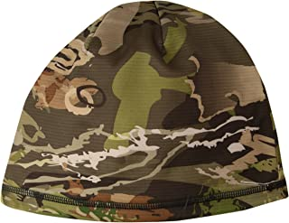 Under Armour Men's Reversible Fleece 2.0 Beanie, Ua Forest Camo (940)/Black, One Size