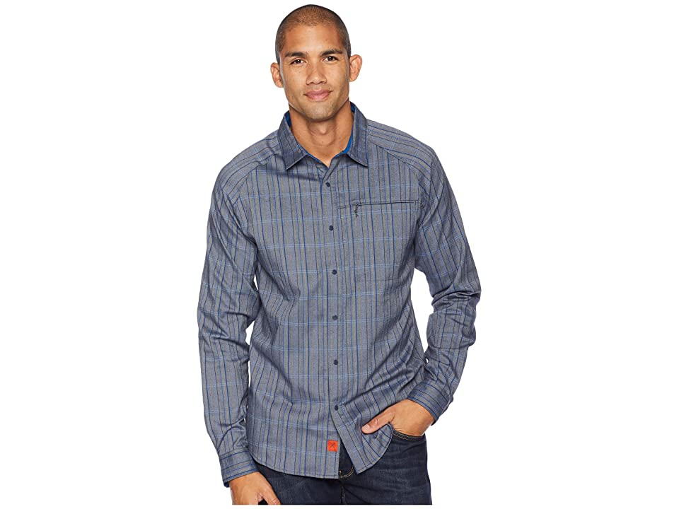 Mountain Hardwear Stretchstone V Long Sleeve Shirt (Dark Zinc) Men