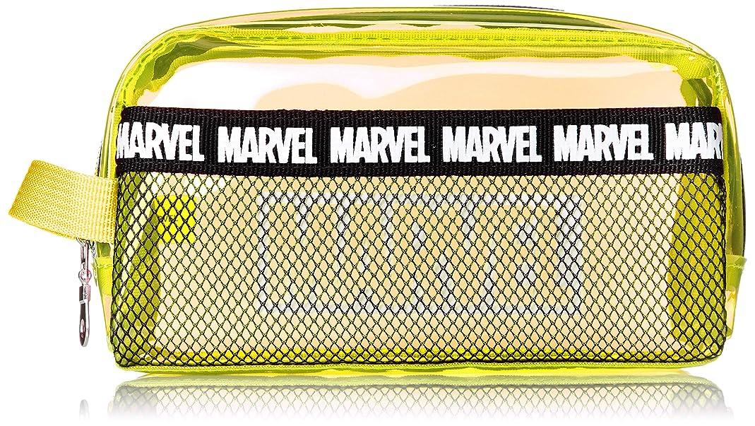 わかる間隔エイズ[マーベル] MARVEL マーベル メッシュポケット付き クリアポーチ MV-167b mv-