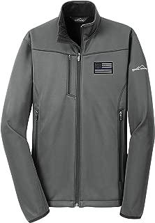 American Flag Blue Line Jacket Soft Shell Weather-Resit EB538