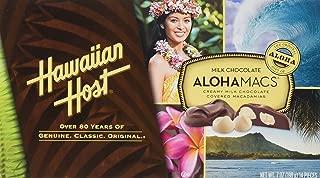 Hawaiian Host Aloha Macs Milk Chocolate Macadamia Nuts (7 ounce box, 14 pieces) (1 Box)