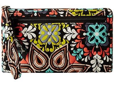 Vera Bradley Front Zip Wristlet (Sierra) Wristlet Handbags