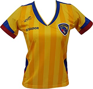 Ecuador Slim Women Soccer Jersey Copa America 2016