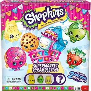 Shopkins Supermarket Scramble Board Game