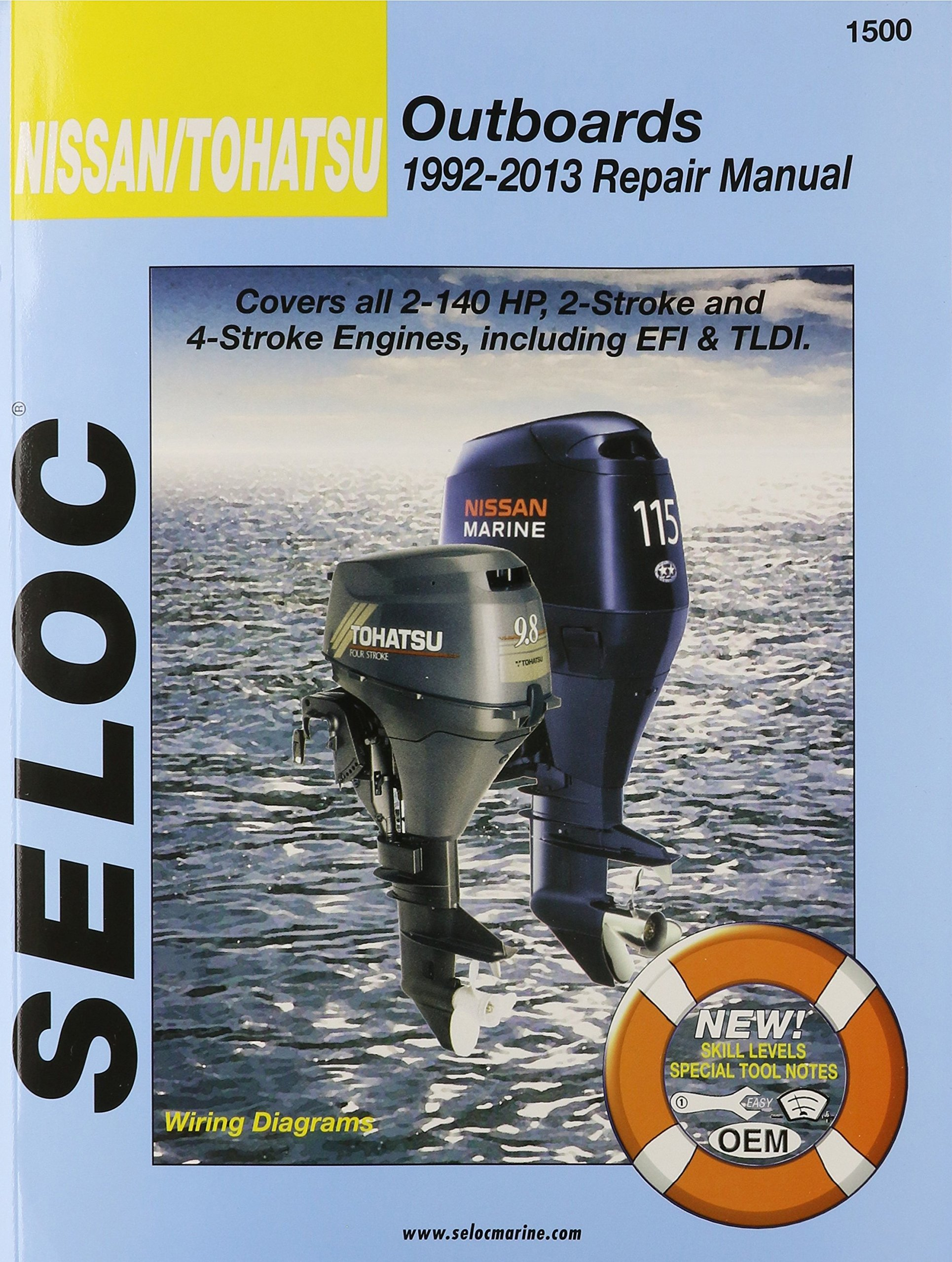 nissan tohatsu outboards 1992 13 repair manual all 2 stroke \u0026 4 Mercury Outboard Wiring Diagram