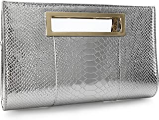 fc6dcf71db9 Amazon.com: Silvers - Clutches / Clutches & Evening Bags: Clothing ...